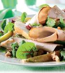 Salata de sunca de pui cu pere si struguri