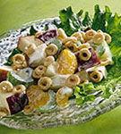 Salata de telina cu ciuperci