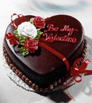 Prajitura Valentine cu ciocolata