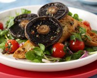 Salata de ciuperci marinate