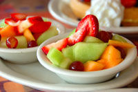 Salata de fructe cu menta