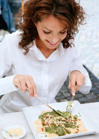 Un pranz usor, pentru vegetarieni