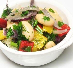Salata de fasole boabe
