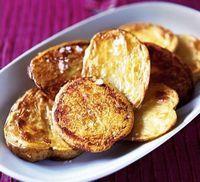 Cartofi copti cu dafin (vegetarian, de post)
