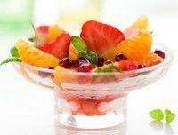 Salate de fructe cu miere