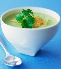 Supa rece de avocado (2 portii)
