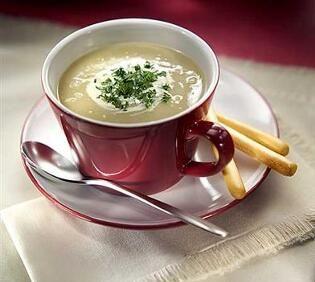Supă-cremă de fasole boabe