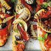 Bruschete cu tomate si dovlecei