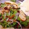 Postul Pastelui: Salata cu mere, nuci si afine