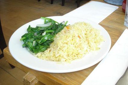 Reţetă de post: Mâncare de spanac cu orez integral