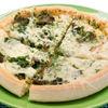 Cina instant: Pizza cu spanac si ciuperci