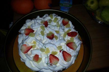 Tort Diplomat cu fructe si iaurt
