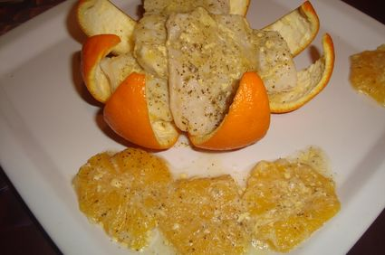 File de pangasius in sos de portocale