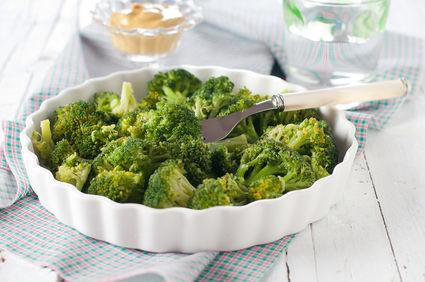 Broccoli cu usturoi la cuptor