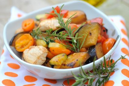 Reţetă de post: Zucchini şi cartofi la cuptor