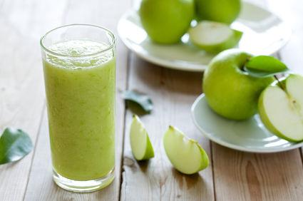 Smoothie cu mere şi Musli