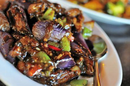 Vinete chinezeşti cu usturoi şi sos de soia
