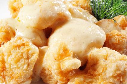 Conopidă pane cu mujdei de usturoi