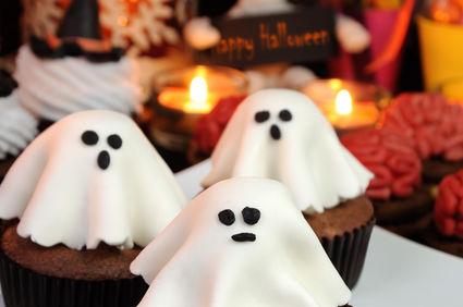 Prăjitura fantomă cu marţipan, perfectă pentru Halloween