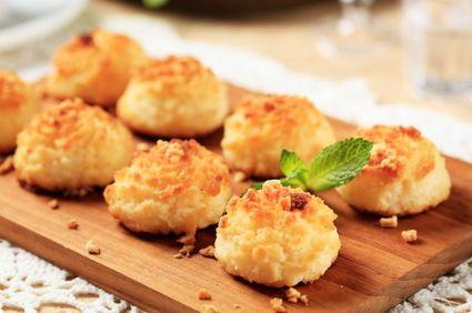 Prăjiturele din fulgi de cocos