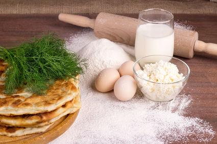 Turte cu brânză şi mărar