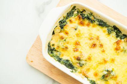 Lasagna cu spanac, brânză şi ciuperci, primăvară cu gust italian