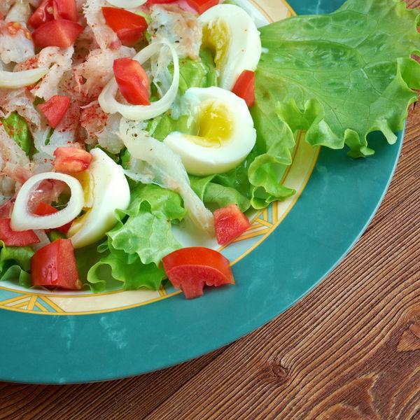 Esqueixada, o salată catalană delicioasă şi simplu de preparat
