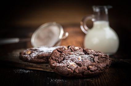 Cum să faci fursecuri cu ciocolată, fără făină