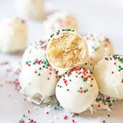 Trufe cu ciocolată albă