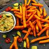 Cartofi dulci la cuptor: Reţetă de post
