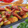Reteta rapida de cartofi taranesti cu afumatura