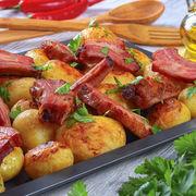 Rețetă rapidă de cartofi țărănești cu afumătură