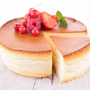 Cheesecake japonez din trei ingrediente