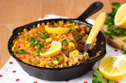Cum să faci paella vegetariană